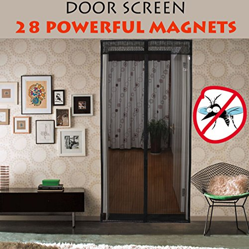 Omgogo Magnetic Door Screen, Fits Door Openings up to 39