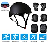 JIFAR Adjustable Helmet Protective Pads Knee Elbow Pads Wrist Guards Sports Support Safety