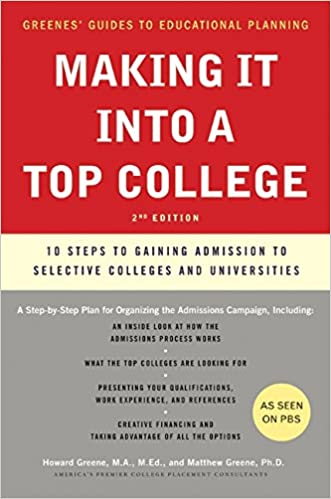 Writing college admissions essay 10 steps