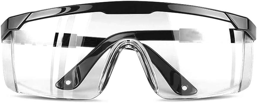 Gafas protectoras trabajo,Anself- Gafas protectoras Multifuncionales Gafas protectoras Anti-salpicaduras Anti-polvo Anti-viento Anti-arena Protector