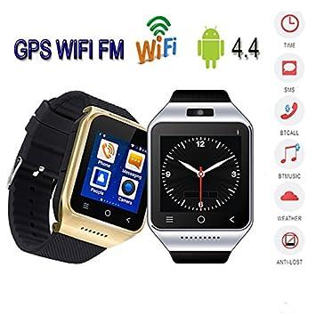 "zgpax S8 inteligente reloj 1.54 ""Android 4.4 MTK6572 Dual Core Smart Electronics 2 MP"