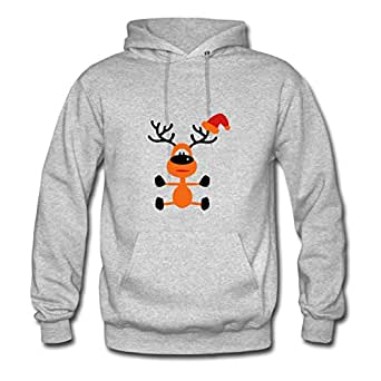 Customizable Cool Christmas Created Sweatshirts In Grey Women Cotton X-large