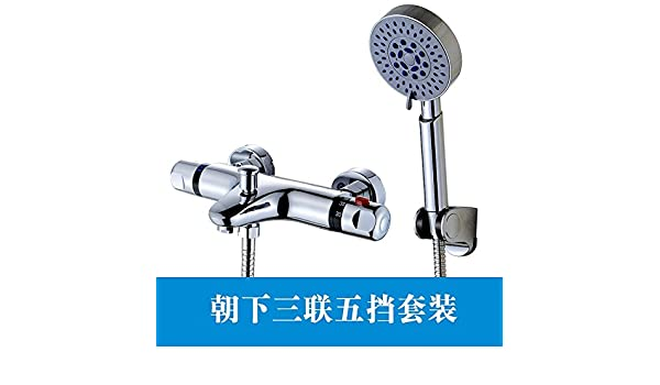 Mangeoo La válvula mezcladora termostática integrada de cobre en solar calentador de agua solar válvula termostática regulador de temperatura del agua,en el ...