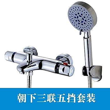 Mangeoo La válvula mezcladora termostática integrada de cobre en solar calentador de agua solar válvula termostática