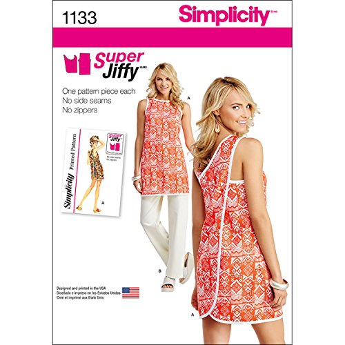 Simplicity 1133 Women's Tunic and Pants Sewing Pattern Set, Sizes 6-18