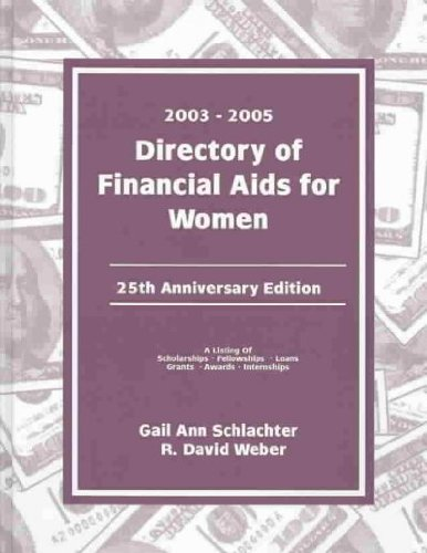 Directory of Financial AIDS for Women 2003-2005