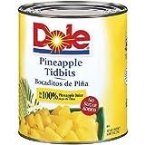 DOLE Pineapple Tidbits No. 10, 106 Ounce