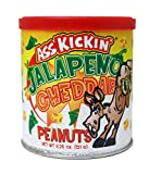 Ass Kickin' Jalapeno Cheddar Peanuts 4.25oz