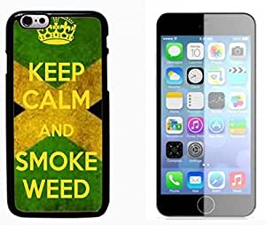 DAOJIE Generic Marijuana Kush Weed Hard Plastic and Aluminum Back Case FOR Apple iPhone 6 6G 4.7inch