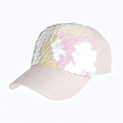 Amazon.com: Lannmart Men Women Adjustable Baseball Sunscreen Sequins Snapback Hip-Hop Hat Unisex Cap Gorras para Hombre: Kitchen & Dining