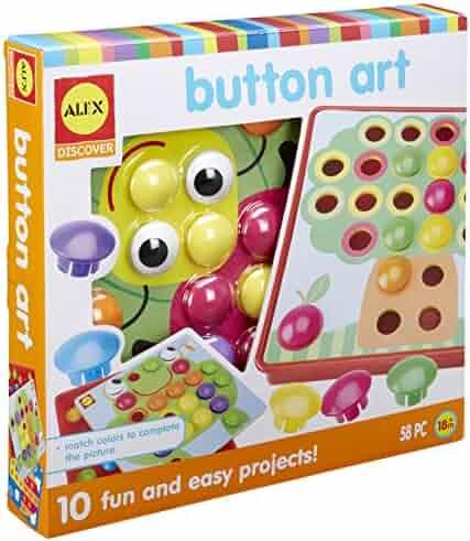 ALEX Discover Button Art Activity Set