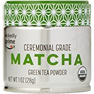 Wickedly Prime Organic Matcha Green Tea Powder, Product of Japan, Ceremonial Grade, 1 Ounce