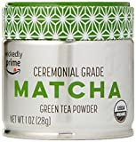 Wickedly Prime Organic Matcha Green Tea Powder, Ceremonial Grade, Product of Japan, 1 Ounce