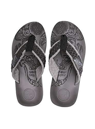 KOALA BAY Men's Thong Sandals Black bdvyZk8P