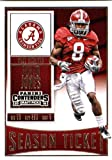 #6: 2016 Panini Contenders Draft Picks #55 Julio Jones Alabama Crimson Tide Football Card in Protective Screwdown Display Case