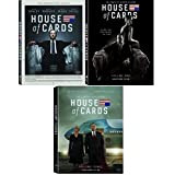 House of Cards DVD 1-3, Season 1, 2, 3