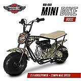 Mega Moto - Gas Mini Bike - 80CC/2.5HP without Suspension (MM-B80-BC)(MOBU Break Up Country)