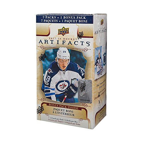 2017-18 Upper Deck Artifacts Hockey 8ct Blaster Box