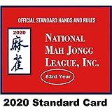 National Mah Jongg League 2020 Standard Size Card - Mah Jongg Card