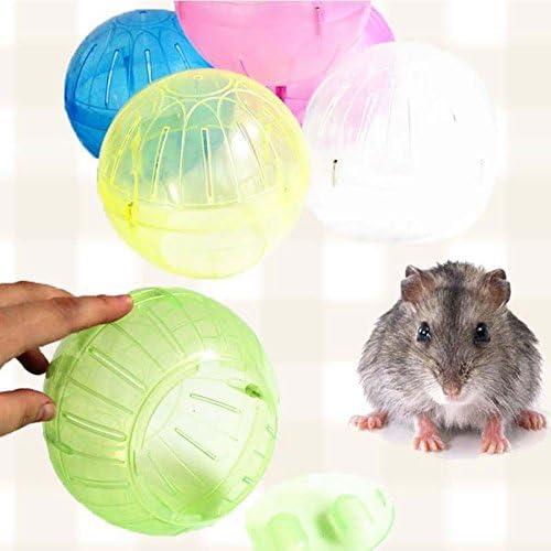 Plastic Pet Rodent Mice Jogging Ball Toy Hamster Gerbil Rat Exercise Balls randomly 10cm