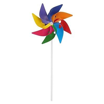 Lisanl Jardín Patio Fiesta Camping Molino de Viento Wind Spinner Adorno Decoración Juguete para niños Nuevo: Juguetes y juegos
