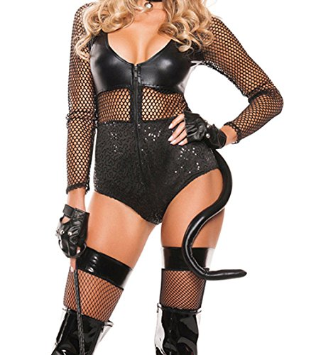 [YeeATZ Sexy Midnight Cat Costume(Size,M)] (Costumes With Mumus)