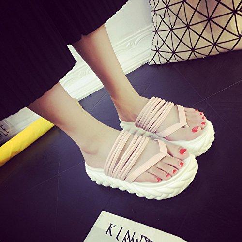 per 3 love beauty donna da Infradito 2 Angel due Pantofole Black metodi ciabatte Size Pink di EU Color usura con 36 xtFqdUd5w