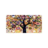 Art Tree License Plate with Durability and Strength -12' X 6' inches