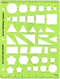 Euclid's Helper Geometric Drawing Template Class (30) Pack