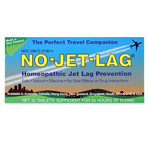 Lewis N Clark NJL No-Jet-Lag Homeopathic Remedy by Lewis N. Clark (Image #1)