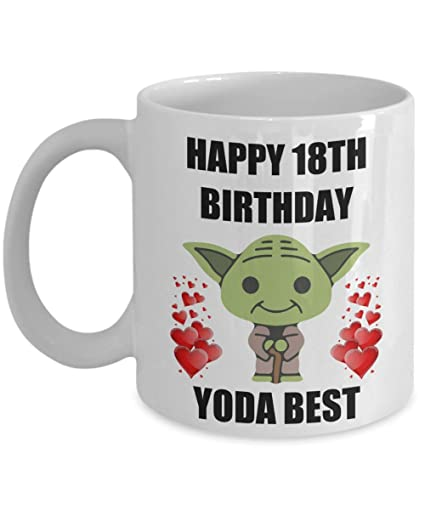 Amazon 18th Birthday Gifts For Yoda Best Daughter Son Mom Dad