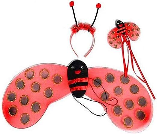 Toyvian Disfraz de Disfraz de Mariquita para niños de Halloween ...