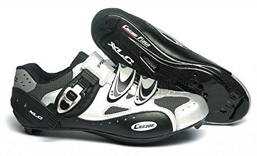 XLC Rennradschuhe Pro Lite Road-Shoes (Ausführung: Gr. 37 silber)