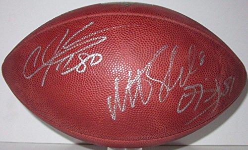 Schaub, Johnson, Daniels Signed Authentic Wilson Duke Nfl Game Football - PSA/DNA Certified - Autographed College Footballs