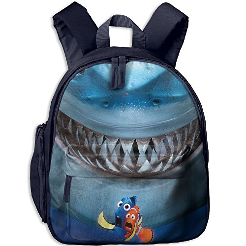 Finding Nemo Bruce Costume (Finding Nemo Bruce Fashion And Colorful Kids Kindergarten Backpack, Comfortable Shoulder Straps)