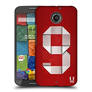 Head Case Designs 9 I Am Number Protective Snap-on Hard Back Case Cover for Motorola Moto X 2nd Gen LTE