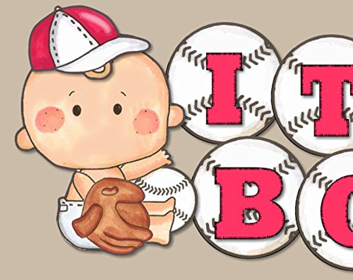 1st Birthday Baseball Invitations - 7