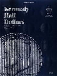 Kennedy Half Dollars Folder 1964-1985 (Official Whitman Coin Folder)