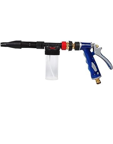 VGEBY Pistola de Espuma Ajustable para Coche Rociador de Lavado de Coche Foamaster de Agua Jabón