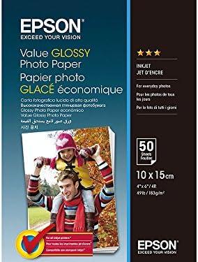 Epson C13S400038 Fotopapier, 50 Blatt, 10 x 15 cm