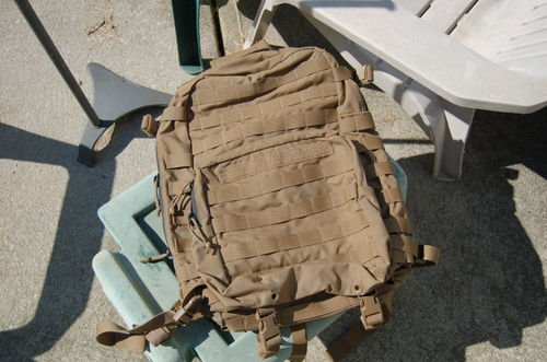 Eagle industries FILBE Assault pack Coyote Tan issued to USMC f3f2bbcb37