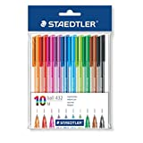 Staedtler Ballpoint Stick Pens, 43235MWP10TH