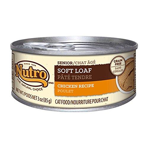 - Nutro Natural Choice Soft Loaf Chicken - Senior Cat (24x3oz)