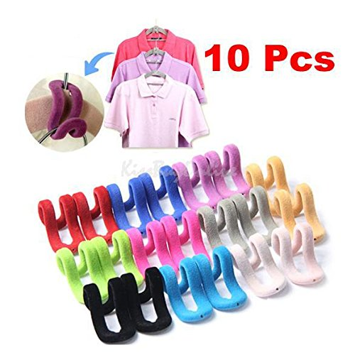 Money coming shop 10pcsTravel Flocking Multifunction Pile Coating Colors Magic Hook Hanging Mini Hook for Clothes Organization Random Color