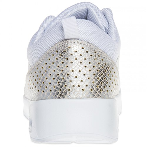 CASPAR SSN004 Women Trainers White KdPsm2