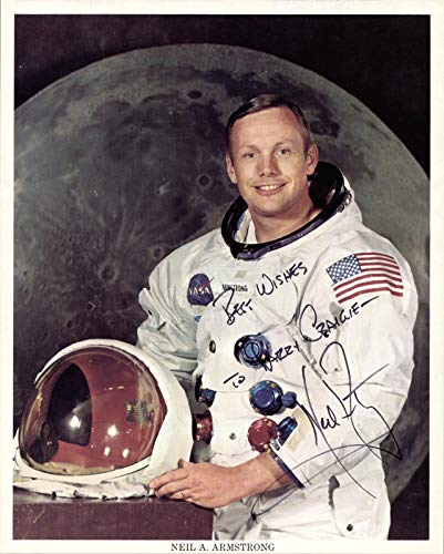 (Neil Armstrong - Inscribed Printed Photograph Signed In)