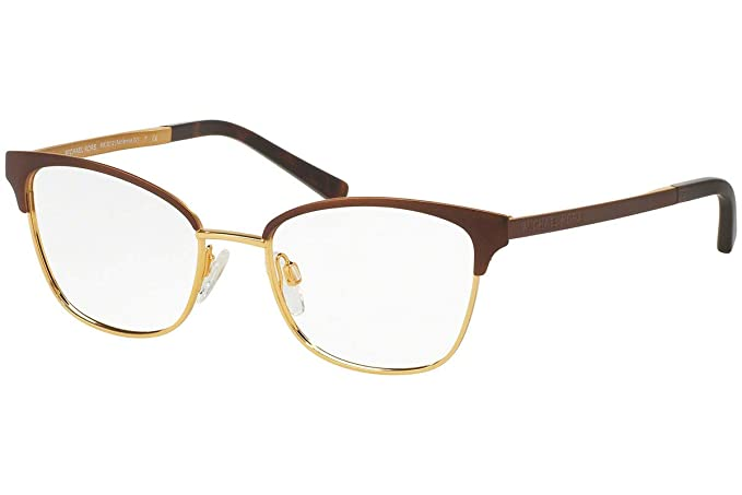 74b0727626 Image Unavailable. Image not available for. Colour  Michael Kors MK3012  Adrianna IV Eyeglasses Brown Gold ...