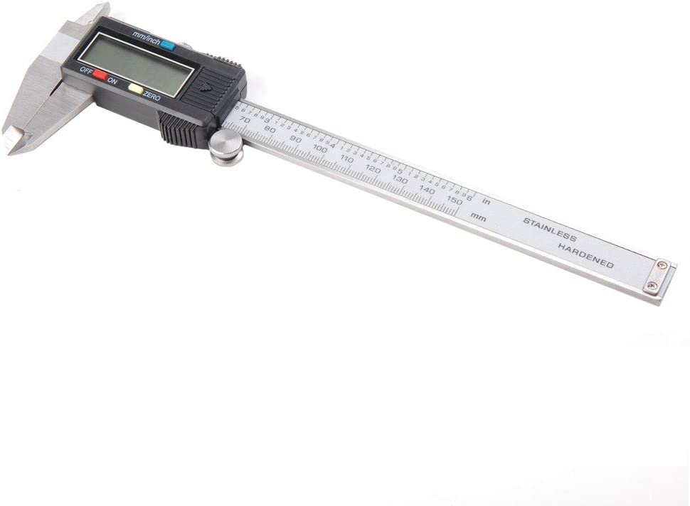 "Resolution 0.001/"" 150mm Stainless Steel Vernier Caliper Micrometer Gauge"