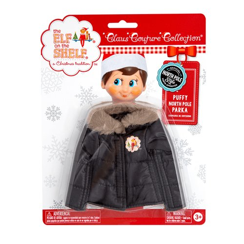 Elf on The Shelf Puffy North Pole Parka -