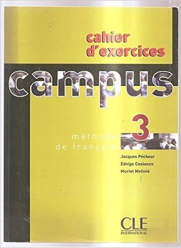En ligne téléchargement gratuit Campus 3 : Cahier d'exercices pdf, epub ebook